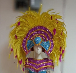 H806 Indian Angel Headdress