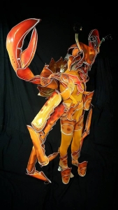 C843 Grand Crab Alien Costume Set
