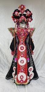 C871 Tribal Bride Costume Set