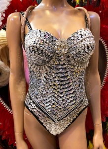 M891 Diamond Star Girl Leotard