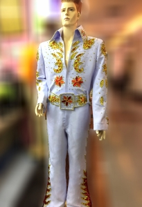 Elvis Presley EAGLE Inspired Singer The King Nature Belt Jumpsuit Costume