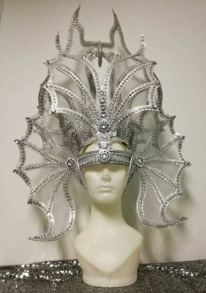 H924 The Metallic Aquaman Headdress