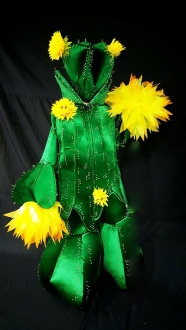 DNN HUT C884 Cactus Tree  Headdress Costume Set