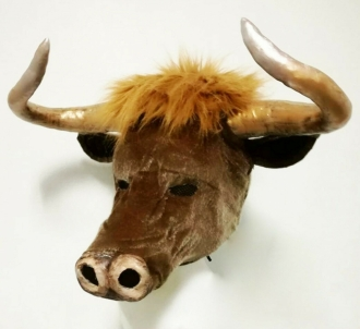 DNN H984 King of Bull Ox Headdress