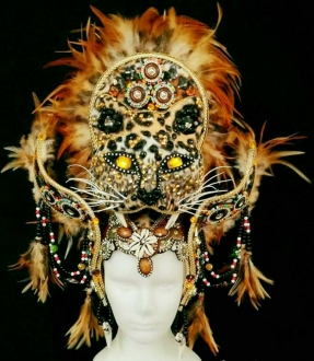 DNN H990 Leopard Headdress
