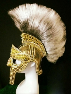 DNN H992 Roman Greek Warrior Headdress